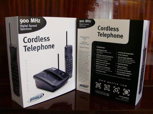 Gn-900max Cordless Telephone Genica