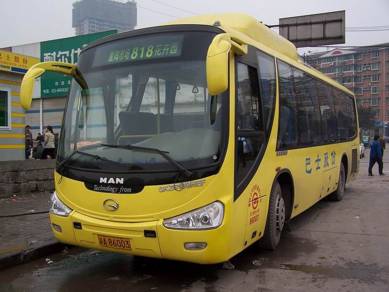 China Made Passenger Buses (China Made Passagierbusse)