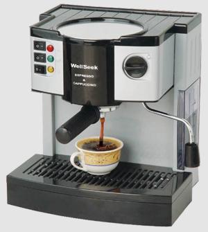 Cappuccino & Espresso Coffee Machine (Cappuccino & Café Espresso Machine)