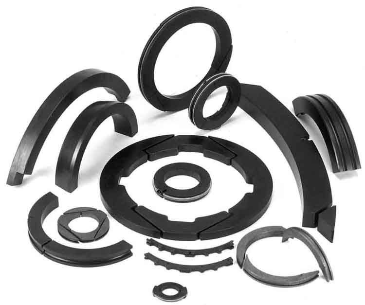 Carbon & Graphite Piston Packing Rings For Compressors & Turbines