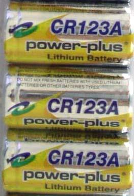 Cr123A Li / Mno2 Battery (CR123A Li / МпО2 Аккумулятор)