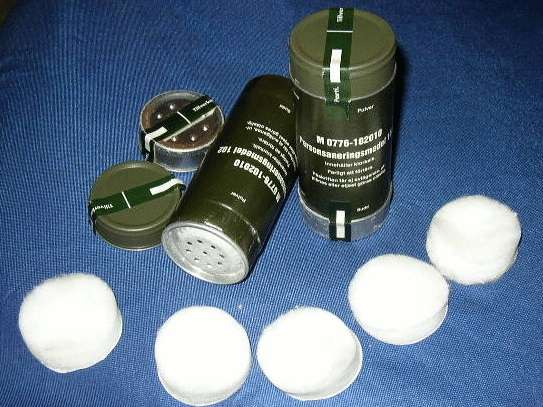 Personal Decontamination Powder (Личный Обеззараживание порошковые)