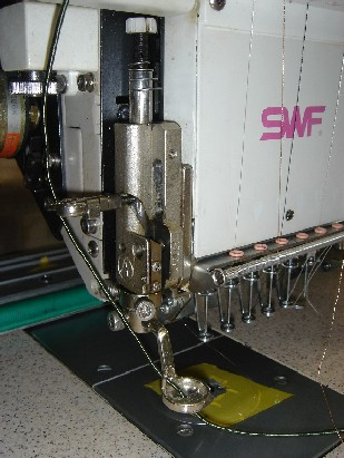Cording Device Of Multi-head Machine