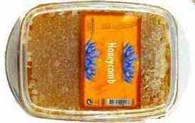 Pure Honey And Comb Honey