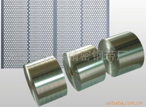 Nickel Coated Perforated Steel Strip, Cold Rolled Steel Strip (Никелевым покрытием перфорированный стальной ленты, холоднокатаных стальных Газа)