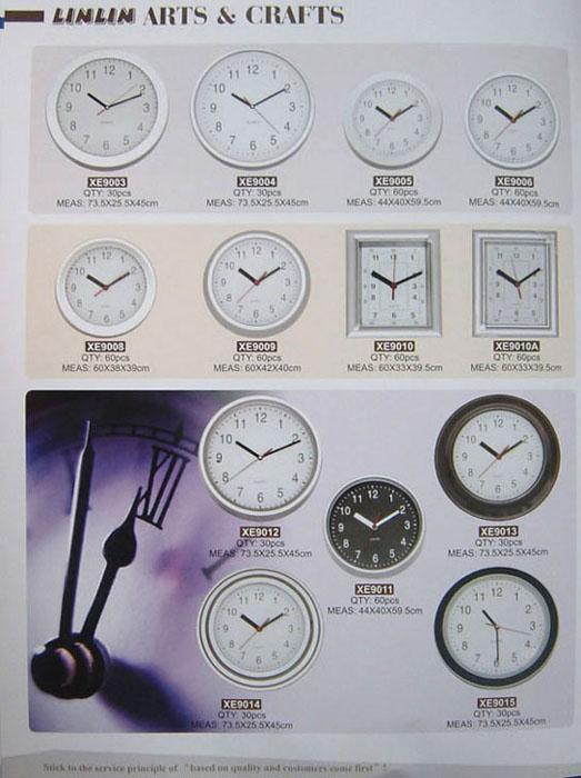 Wall Clocks (Настенных часов)