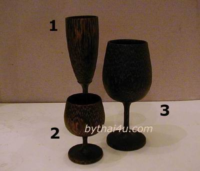 Palm Wood Tableware (Palm Wood Tisch)