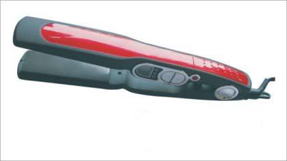 Red Tourmaline Ceramic Digital Hair Straightener E-038c ( Red Tourmaline Ceramic Digital Hair Straightener E-038c)