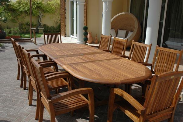 Mobilier de jardin en teck (Teak Garden Furniture)