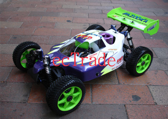 SPEED 1 : 8 Scale Gas Powered 4WD Off-Road Racing Buggy (Скорость 1: 8 Шкала Gas Powered 4WD Off-Road R ing Buggy)