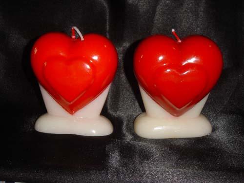 Heart Candles (Сердце свечи)