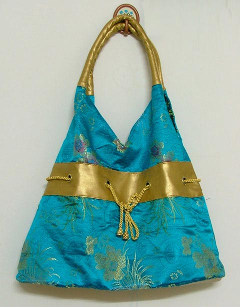 Brocade Fabric Handbag (Brocade Fabric Сумочка)