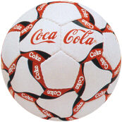 """Coca Cola Promotional Soccer Ball (Кока-Кола """"Рекламная футбольного мяча)"""
