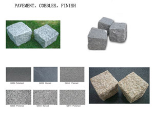 Pavement And Kerb Stone, etc