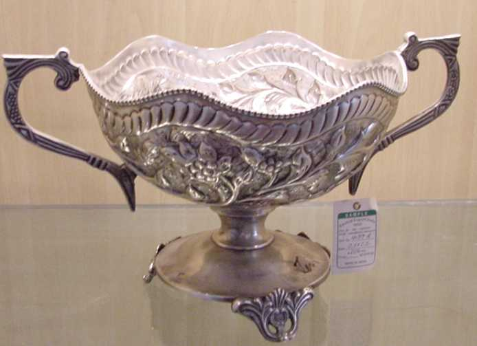 Brass Fruite Bowl (Латунь fruit  Чаша)