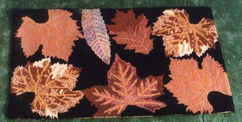 Wool Hooked Rug (Шерсть Увлеченные Ковер)