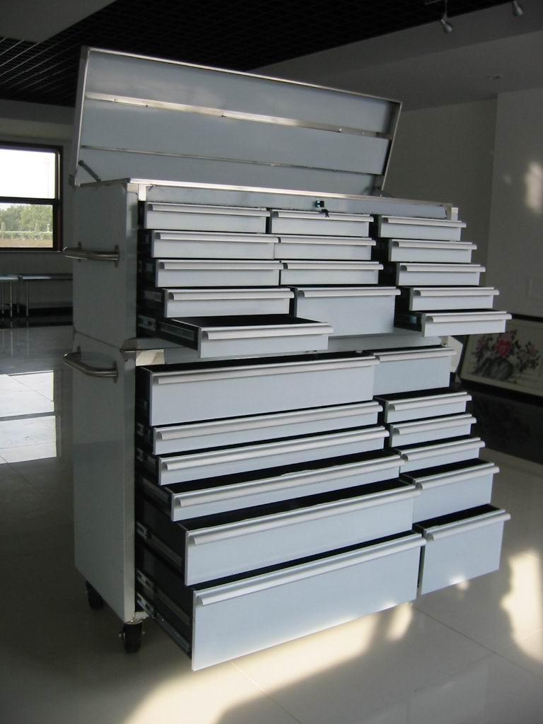 Stainless Steel Toolbox 54 Width 26 Drawers (Нержавеющая сталь Toolbox 54 Ширина 26 ящиков)
