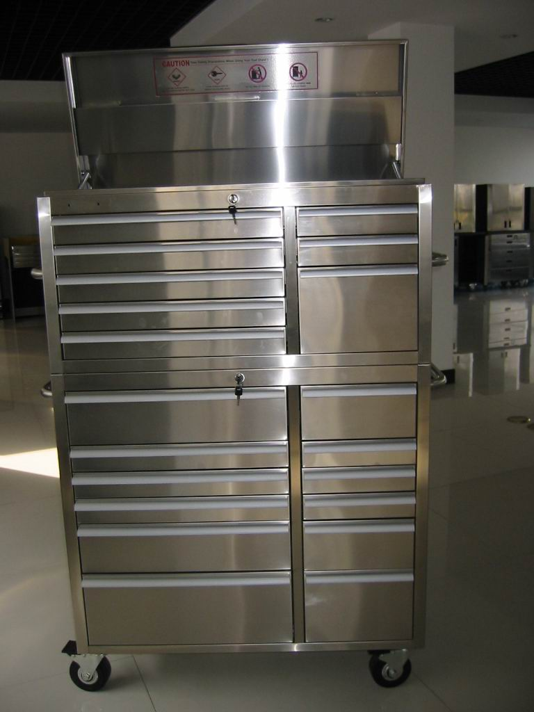 "Stainless Steel Tool Chest 41"" 20drawers Tc41-20 (Нержавеющая сталь Tool Chest 41 ""20drawers Tc41 0)"