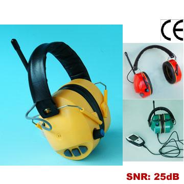 Electronic Ear Muff With FM / AM Radio