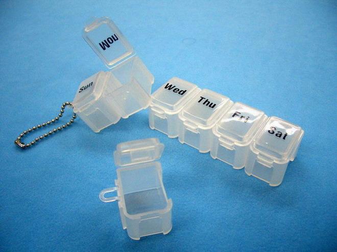 Set Of 7 Pill Case