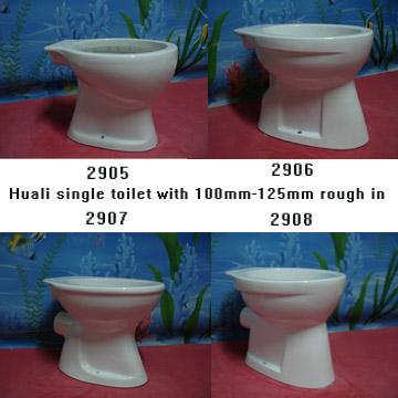 100mm Drainage Single Toilet