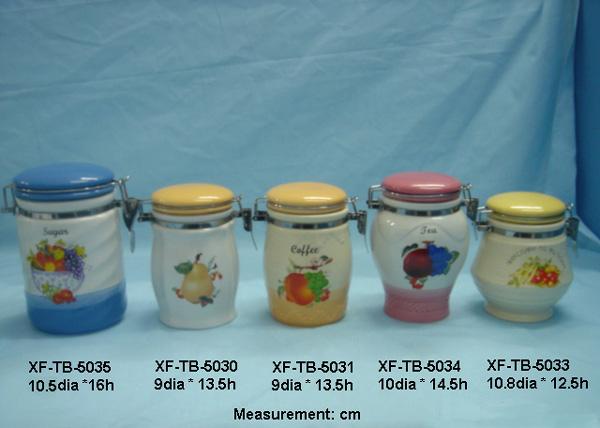 Keramik-Geschirr, Cookie Jar Und Kanister (Keramik-Geschirr, Cookie Jar Und Kanister)