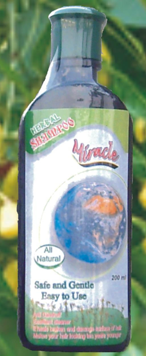 Miracle Herbal Shampoo