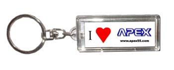 Double Image Solar LCD Key Chain (Double Image Солнечной ЖК-Key Chain)
