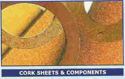 Rubberised Cork Sheets / Strips For Gaskets