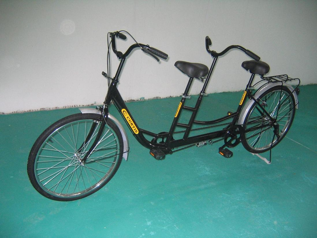 Tandem Bicycle (Тандем велосипедов)
