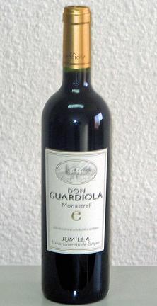 Young Red Wine D. O. Jumilla - Bodega Miguel Guardiola (Молодое красное вино Хумилье - Bodega Мигель Гвардиола)
