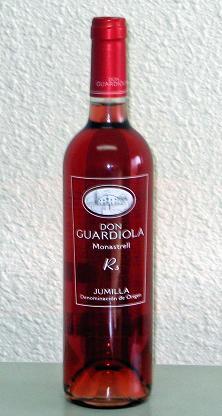 Young Rose Wine D. O. Jumilla - Bodega Miguel Guardiola (Молодые вина Rose Хумилье - Bodega Мигель Гвардиола)