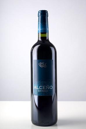 Semi-crianza Red Wine Of The Jumilla D. O. Alceno Syrah (Полу-Crianza красное вино Хумилье DO Alceno Сира)