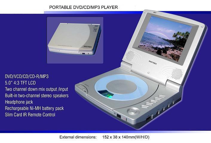 Portable DVD Players With Promotional Cost (Портативные DVD-плееры с рекламными Стоимость)