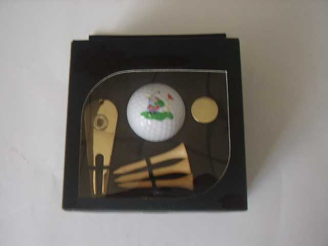 Golf Tool Set In Window Box (Гольф Набор инструментов в коробки окна)