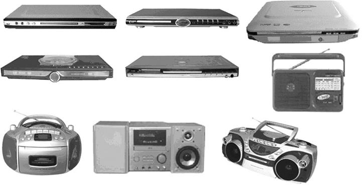 DVD Player, Mini Hi Fi (DVD-плеер, мини-Привет Fi)