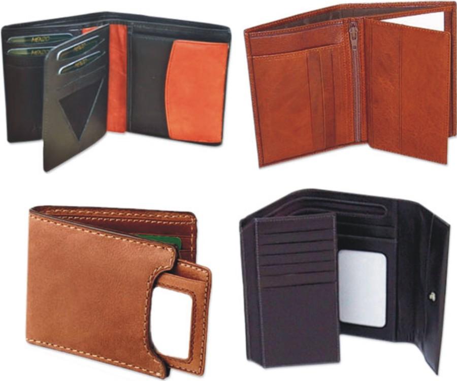 Leather Wallets ( Gents ) (Кожа кошельки (мужские))