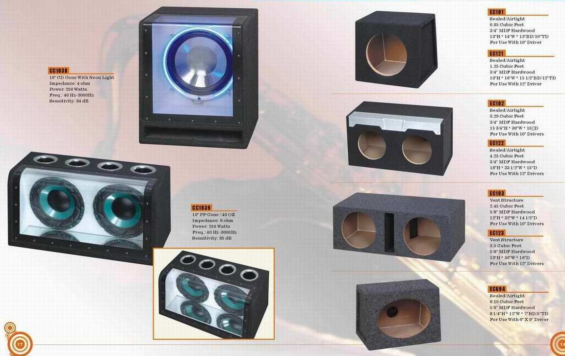 Car-Audio-Lautsprecher-Box (Car-Audio-Lautsprecher-Box)