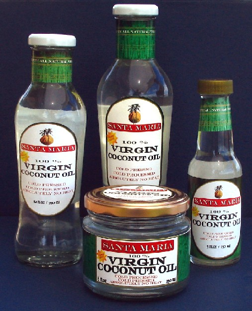 Virgin Coconut Oil (Виргинские кокосовое масло)