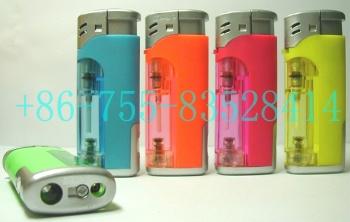 Gas Lighters With LED Lamp (Зажигалки со светодиодной лампой)