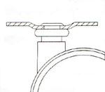 Twin Wheel Castors (Twin колесные ролики)