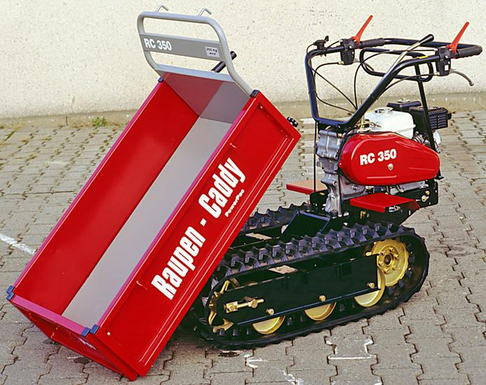 Track-Caddy Type RC350 - Max Payload 350kg - Honda Engine