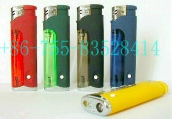 Electronic Gas Lighters With LED Lamp (Электронные зажигалки со светодиодной лампой)