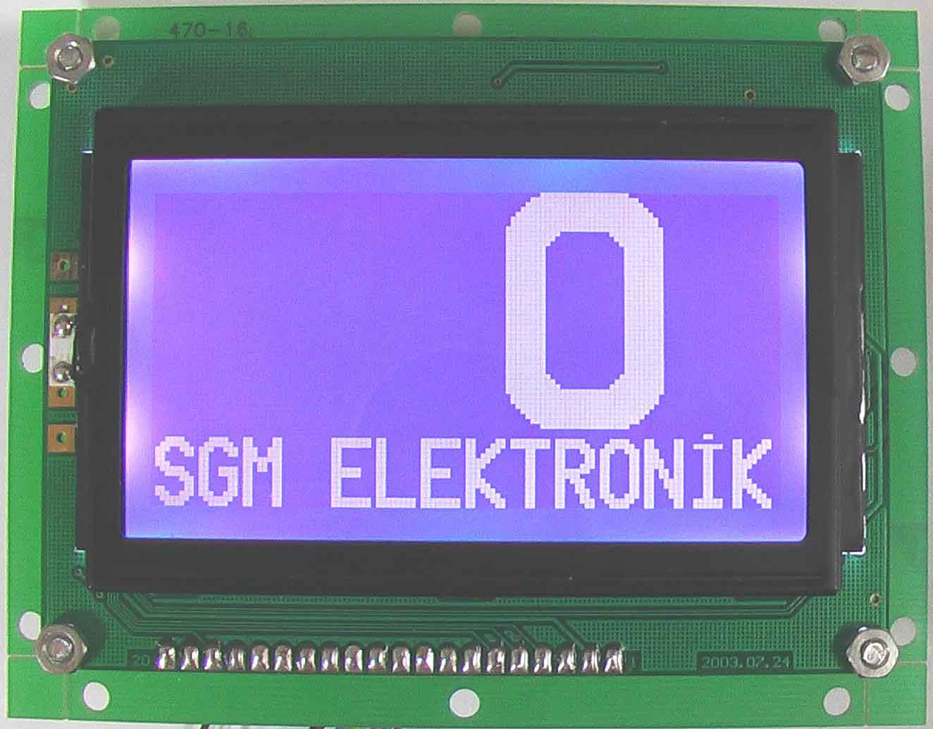 Graphic LCD Indicator ( Graphic LCD Indicator)