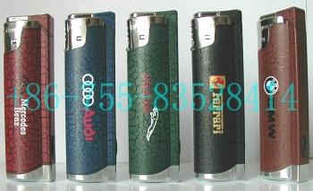 Plastic Electronic Windproof Gas Lighters With LED Lamp (Электронные пластиковые ветрозащитный зажигалки со светодиодной лампой)