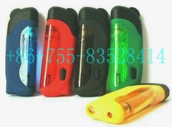 Plastic Gas Lighters With LED Lamp (Пластиковые зажигалки со светодиодной лампой)