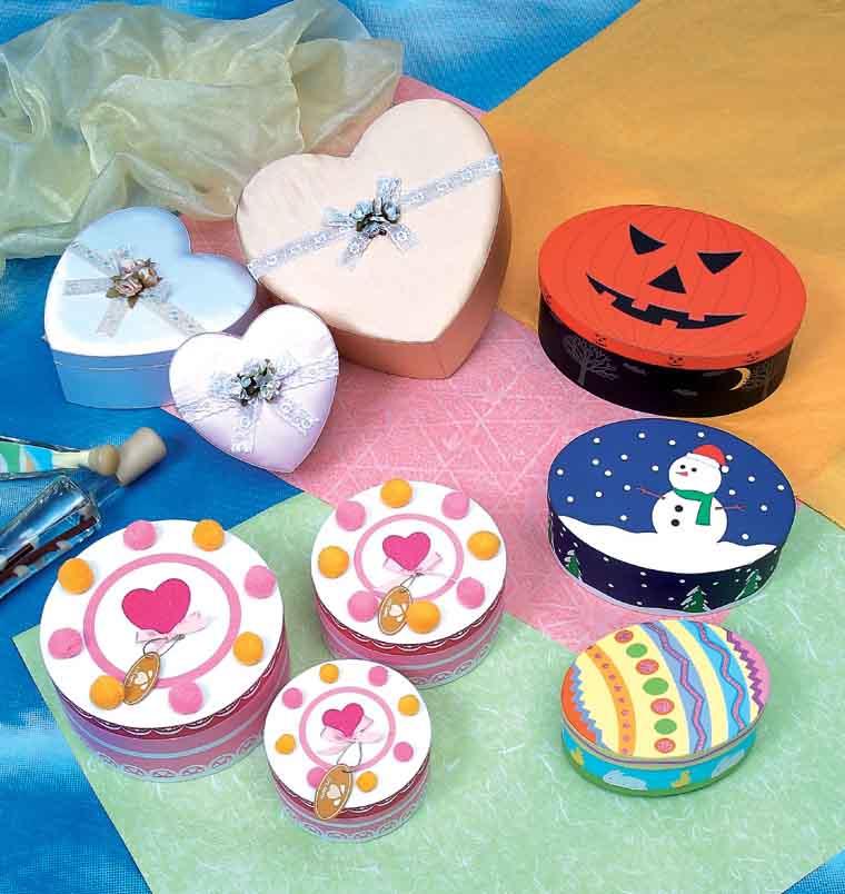 Jewelry Boxes (Шкатулки)