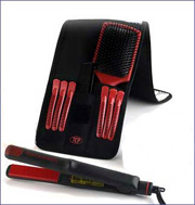 Pouch Mad Ceramic Hair Iron ( Pouch Mad Ceramic Hair Iron)