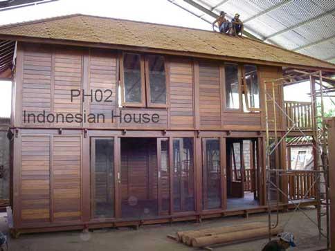 Indonesian Wooden House (Индонезийский Деревянный дом)
