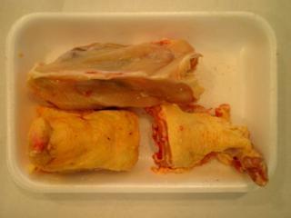 Chicken Carcasses (Carcasses de poulet)